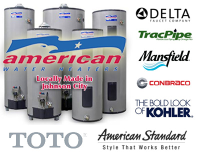 American Water Heaters, Delta Faucets,