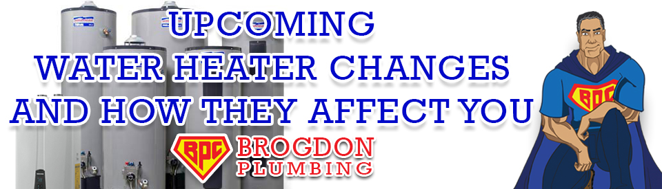 Water heater Changes